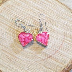 Jewelry - Dangle hearts